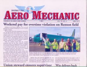 2nd Place: District 751 Aero Mechanic