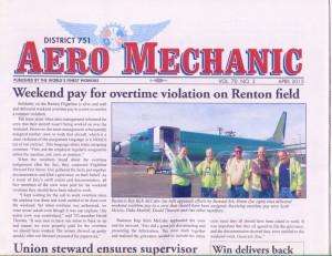 1st Place: District 751 Aero Mechanic